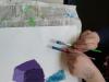 Likovna umetnost v 4. a s slikarko Saro Sporn